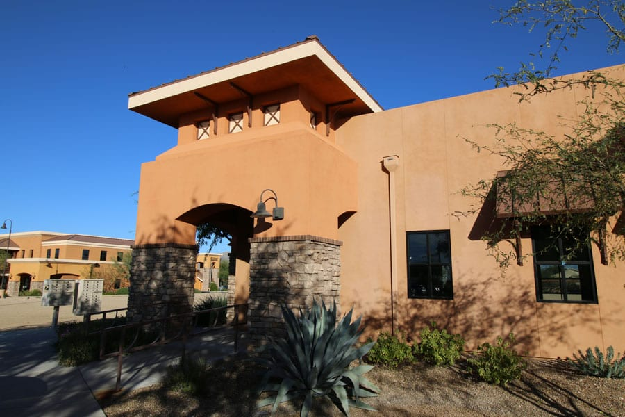 Office building exterior - Tucson commercial property management